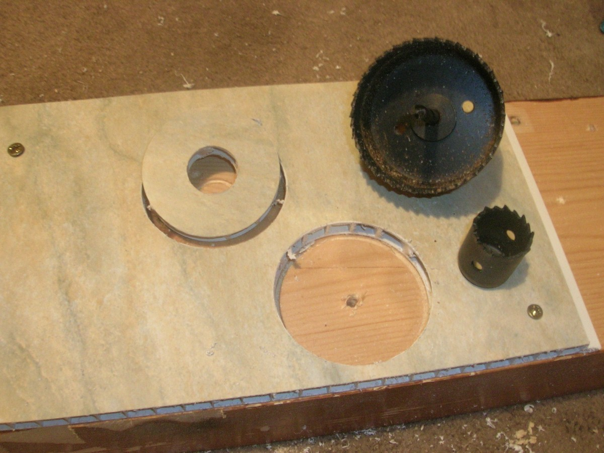 lighting hole saw