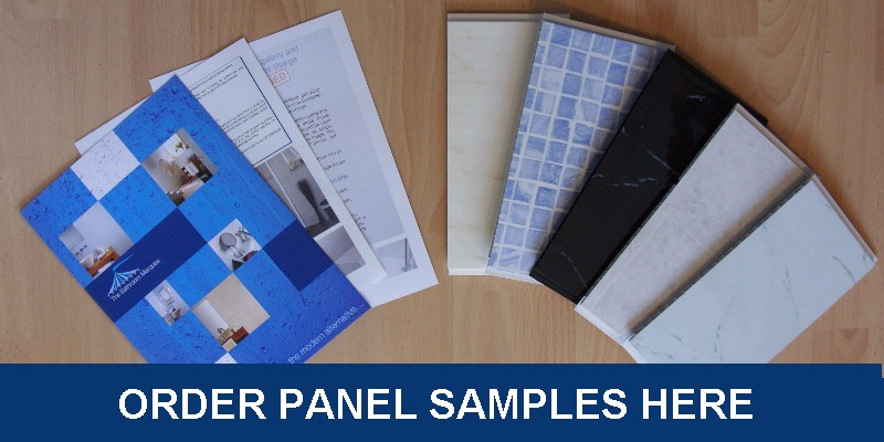 panel samples 800 - Bathroom Wall Panels - The Perfect Alternative To Tiles