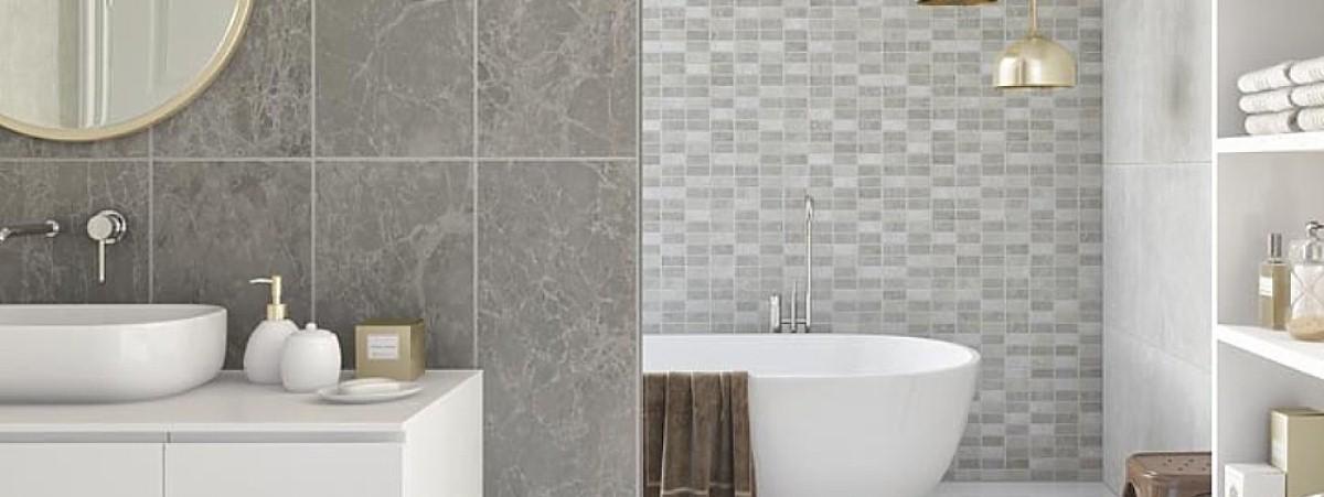 Tile Effect Bathroom Wall Panels