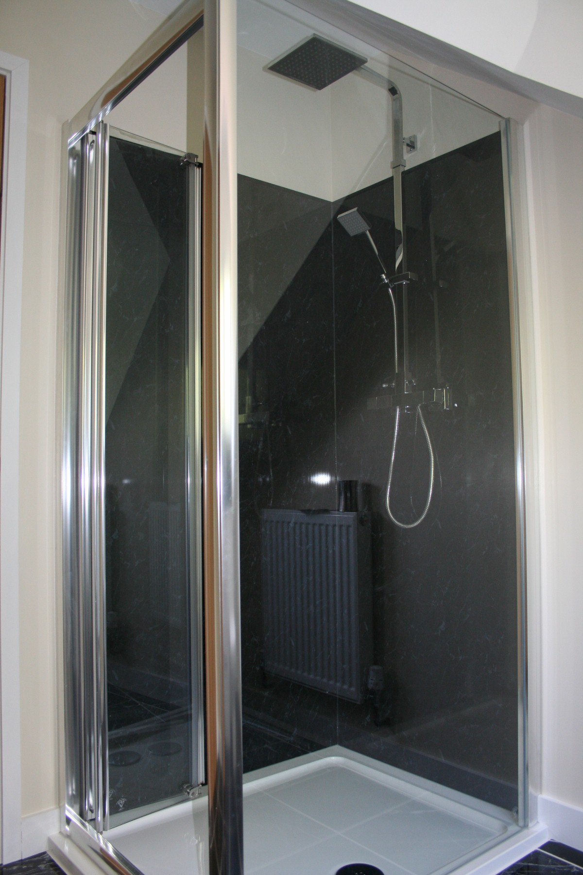 shower door corner - Shower Doors