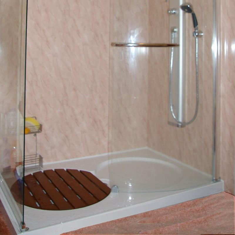 rectangular shower tray