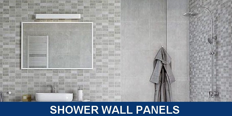 wall panels for leaking showers