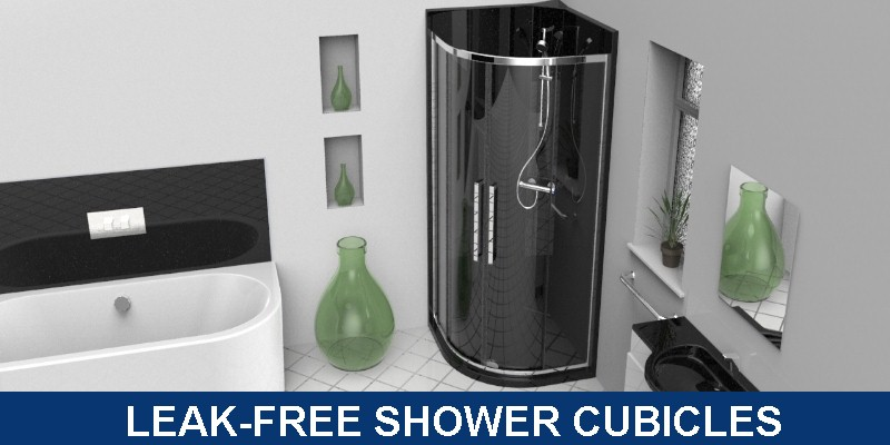 leak-free showers