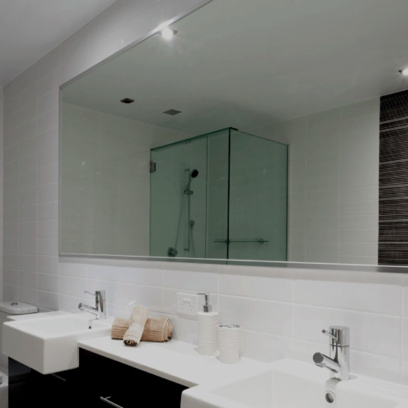 small bathroom mirror