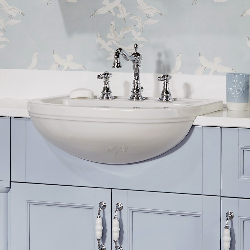 small bathroom vanity3 - 5 Design Tips For Small Bathrooms
