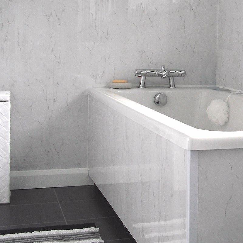 small bathroom white suite