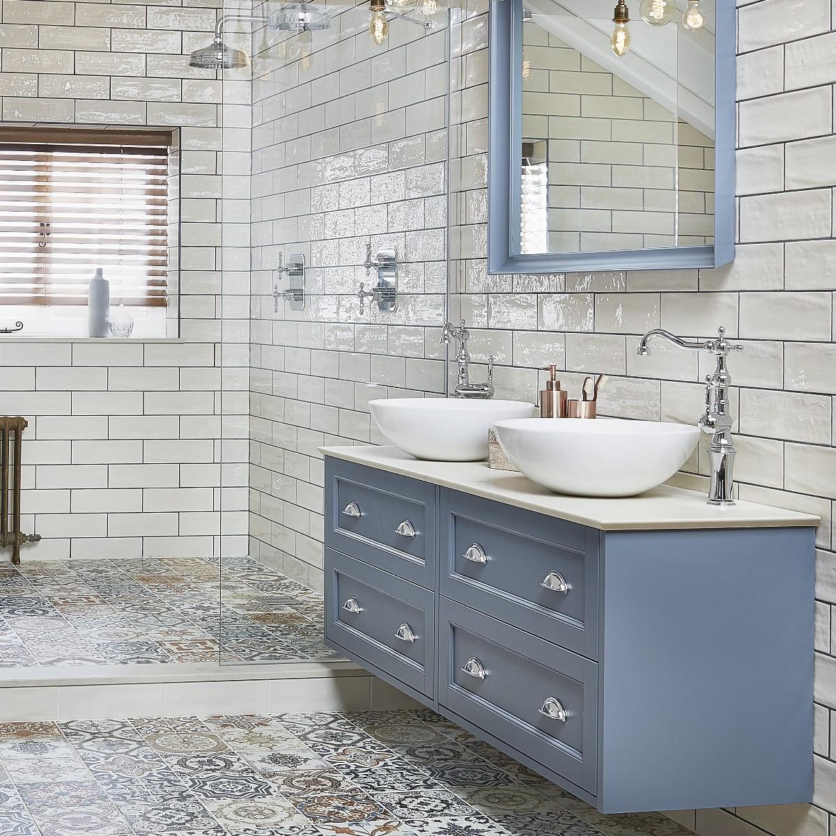 bathroom colour furniture