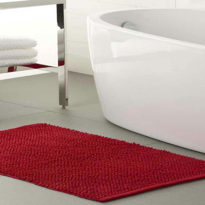 bathroom coloured mat