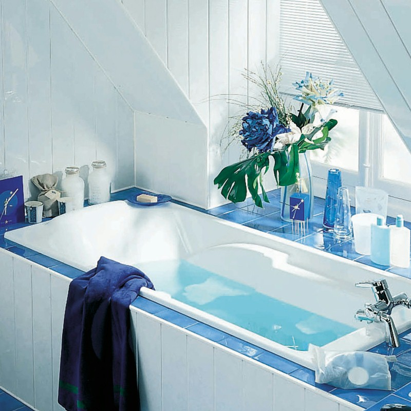 bathroom colour makeover