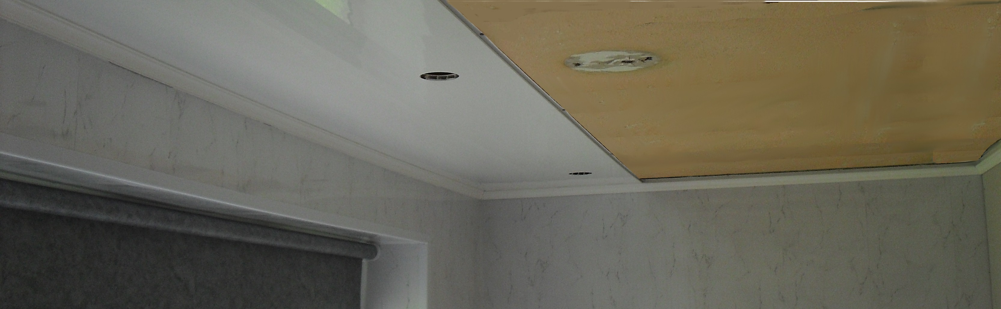 how to fit ceiling panels