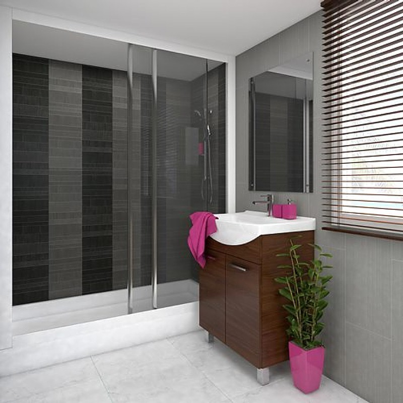 tile effect bathroom wall panels example 3