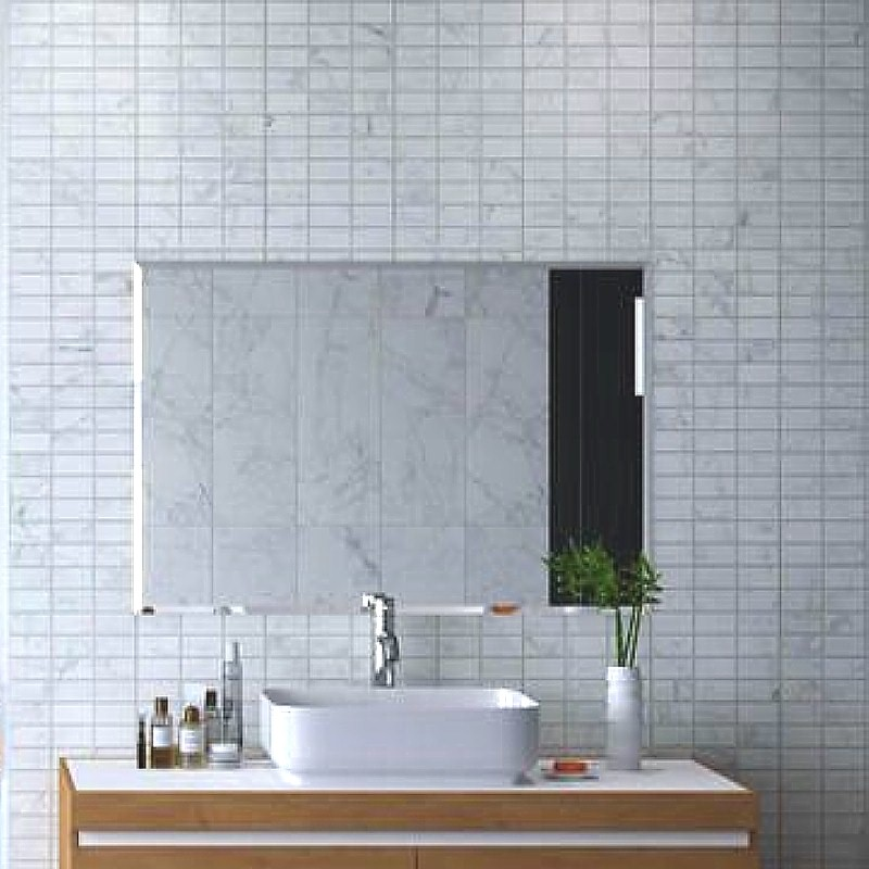 tile effect bathroom wall panels example4 - Tile Effect Bathroom Wall Panels