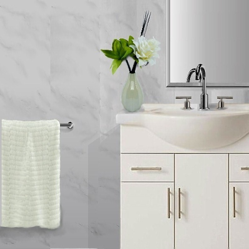 vicenza grey bathroom wall panels - Bathroom Wall Panels - The Perfect Alternative To Tiles