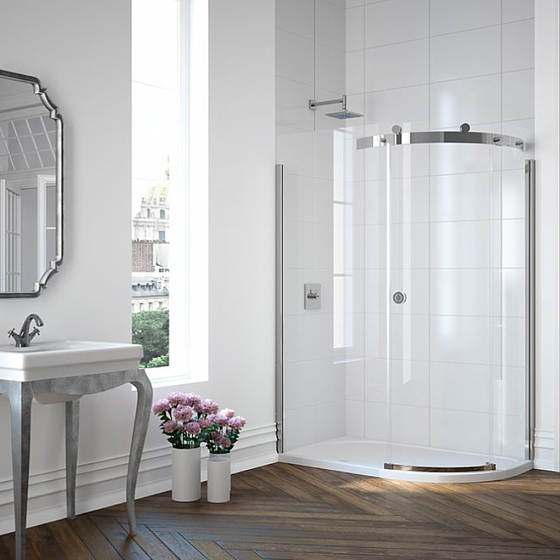 Merlyn quadrant shower cubicle
