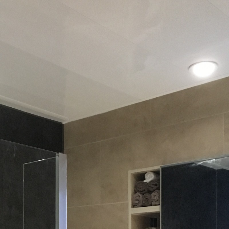 bathroom ceiling panel lighting2 - Bathroom Ceiling Panel Examples