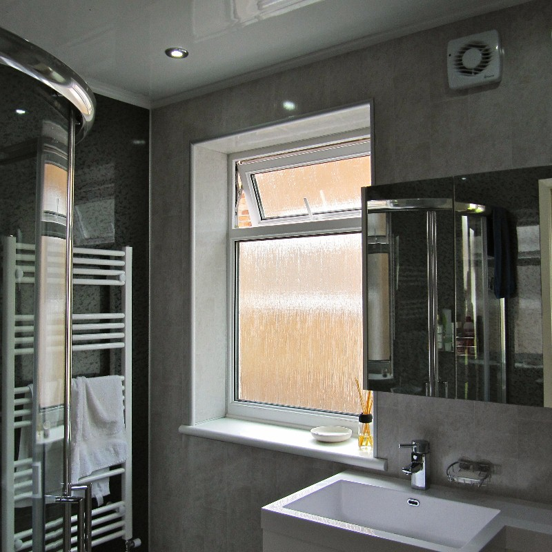 bathroom cladding project