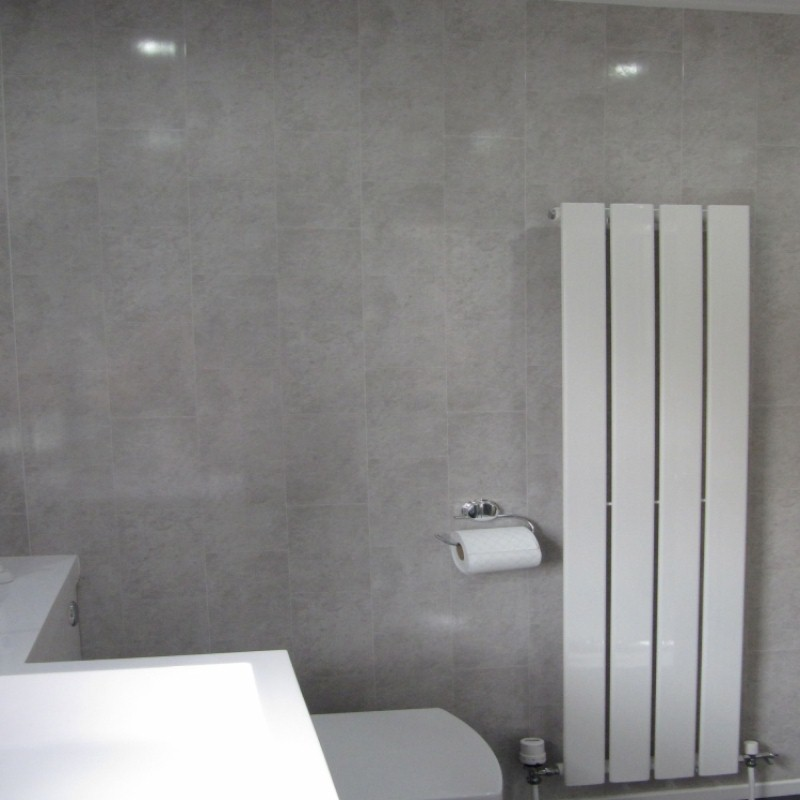bathroom cladding wall project