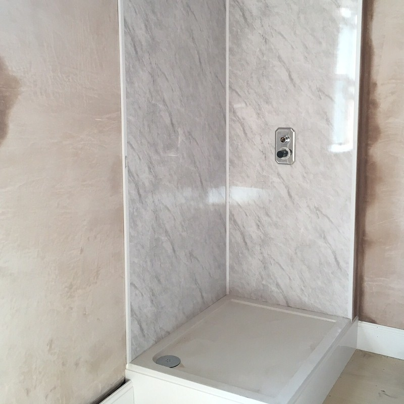 using bathroom cladding - Using Bathroom Cladding In Showers